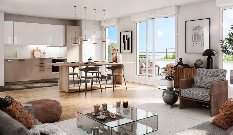 Brun Immobilier à Vincennes:Vente immobilier Neuf en Ile de France