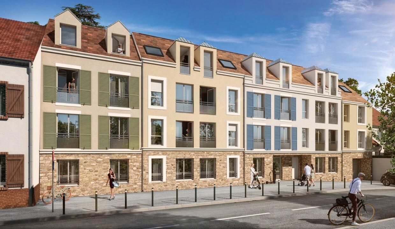 Le Sisley à Pontault Combault 77:Brun Immobilier Neuf:Vente Appartements neufs en Ile de France