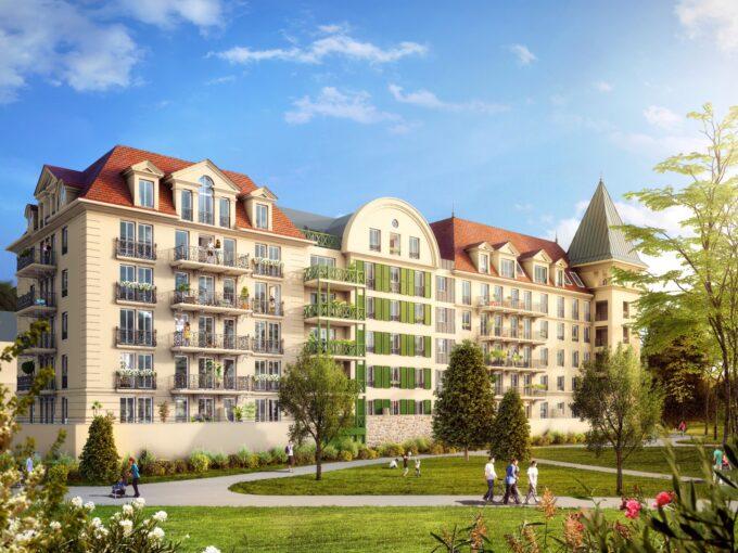 Le Domaine de la Reine :Princesse Anne:Le Blanc Mesnil 93:Brun Immobilier Neuf:Vente immobilier neuf en Ile de France