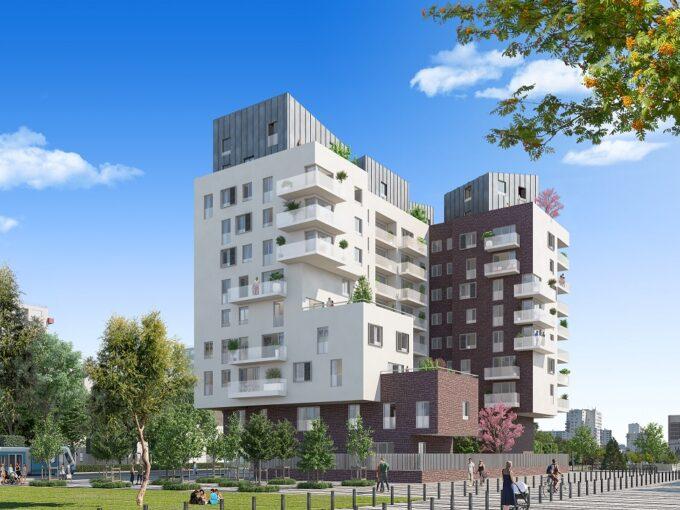 Panorama à La Courneuve 93 : Brun Immobilier Neuf : Vente de logements neufs en Ile de France