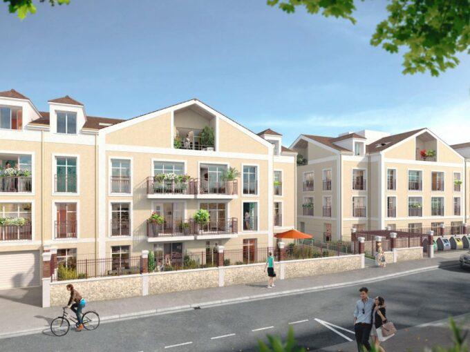 st-leu-la-foret-façade rue-logement-neuf