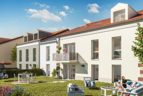 pontault combault-le hameau du genêt-vente -logement-neuf-