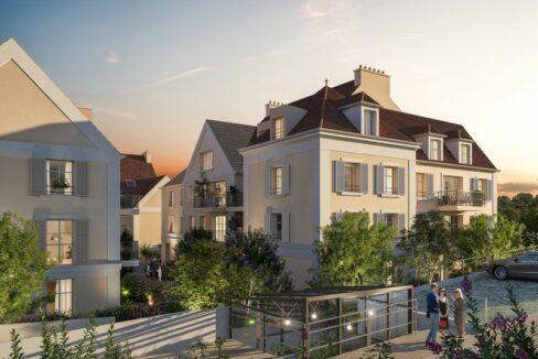 cormeilles en parisis 95-castel vignon-vente-logements-neufs-ile de france